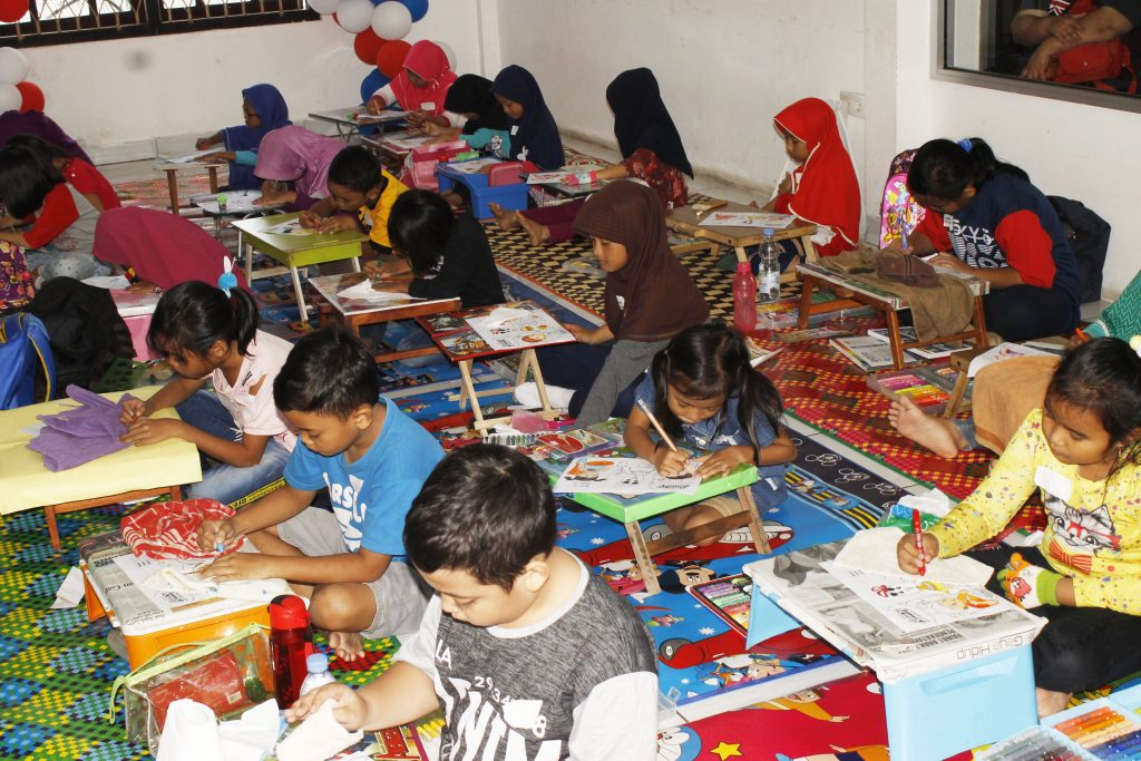 Lomba Mewarnai Amazy Duren Tiga Jakarta Selatan Magfood Amazy